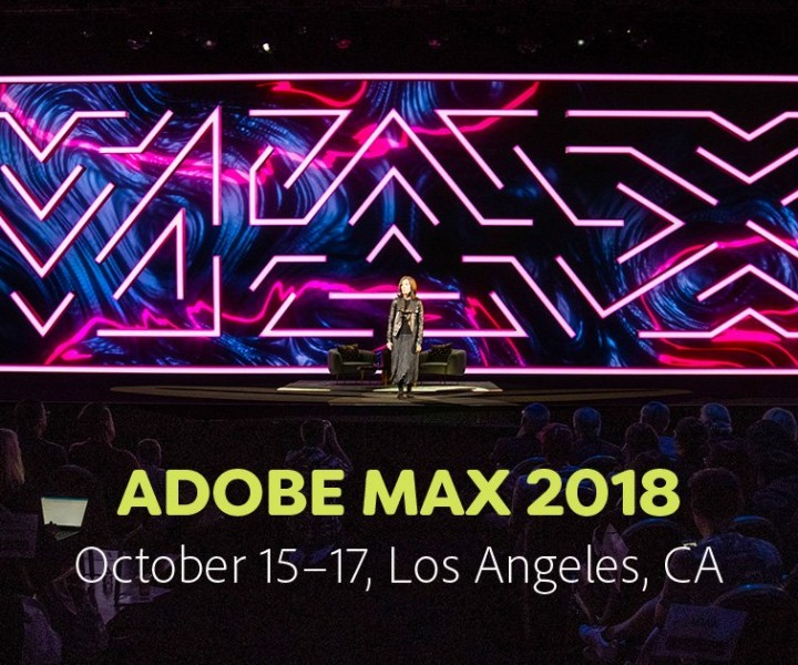 Adobe Max. Source: https://www.pugh.co.uk/events/adobe-max-2018/