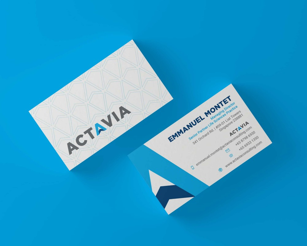 Actavia Business Cards