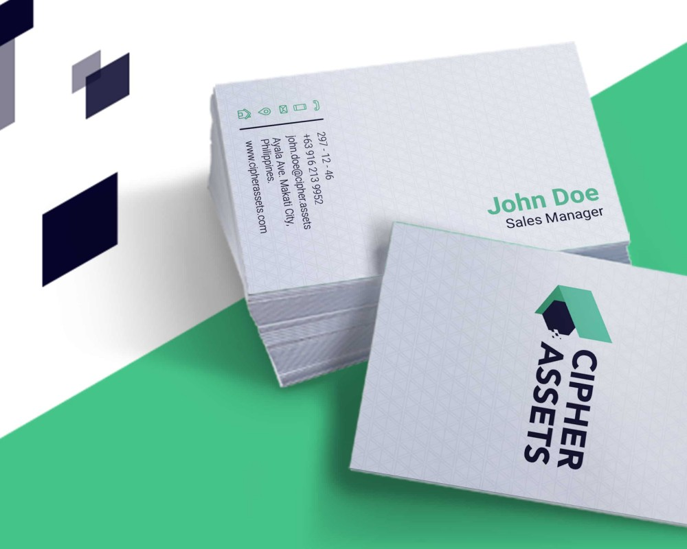 Cipher Assets Business Cards